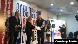 Dodjela nagrada Mariji Arnautović i Selmi Boračić