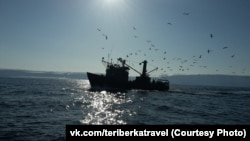 A fishing boat in the Barents Sea (illustrative photo)