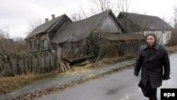 Çernobıl zonası.