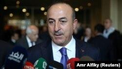 თურქეთის საგარეო საქმეთა მინისტრი, მევლუთ ჩავუშოღლუ
