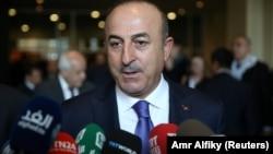 Türkiýäniň daşary işler ministri Mewlüt Çawuşoglu