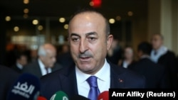 Turkish Foreign Minister Mevlut Cavusoglu (file photo)