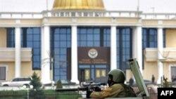 Магас. Резиденция главы Ингушетии