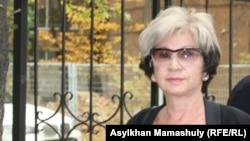Гүлжан Ерғалиева, журналист. Алматы, 7 қазан 2015 жыл