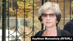 Гүлжан Ерғалиева, журналист. Алматы, 7 қазан 2015 жыл.