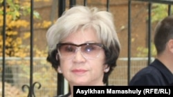 Гульжан Ергалиева, журналист. Алматы, 7 октября 2015 года.