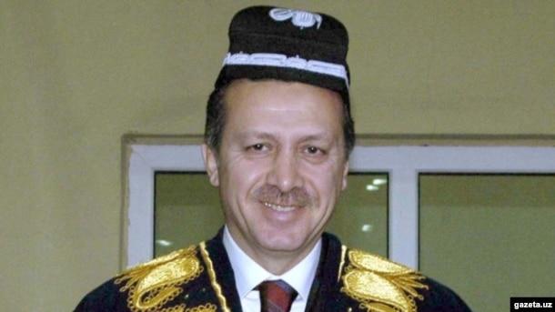 Türkiyə prezidenti Erdoğan, Səmərqənd, 2003