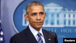 Барак Обама, АҚШ президенті.
