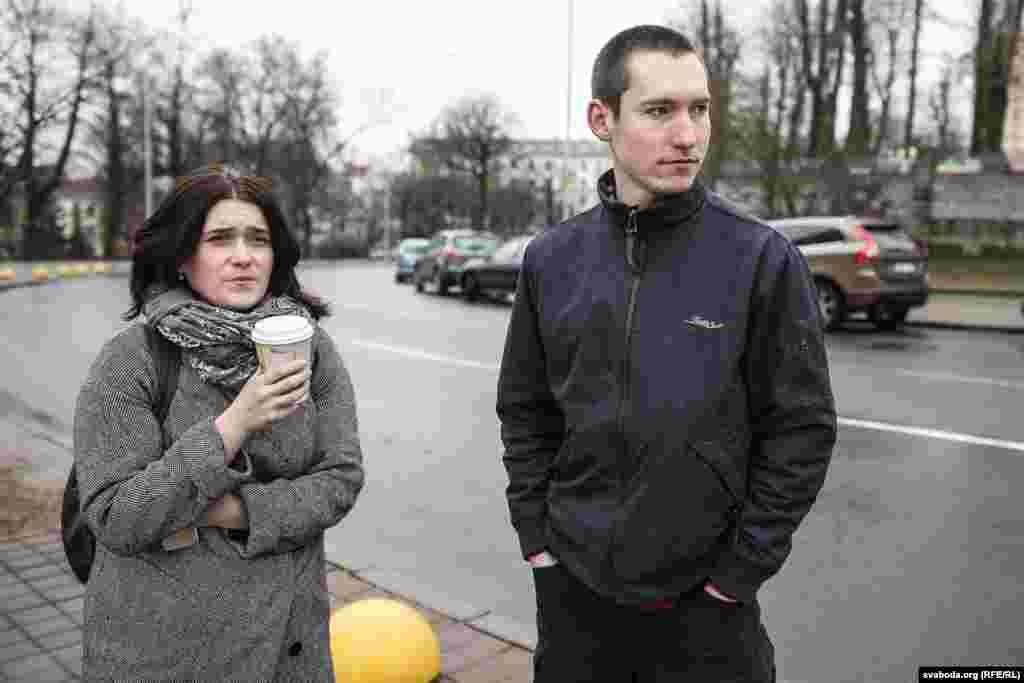 Наста Дашкевіч і Раман Васільеў