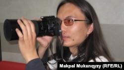 Қырғызстандағы kloop.kg порталының авторы әрі журналист-блогшы Бектұр Ескендір. Алматы, 15 сәуір 2011 жыл.