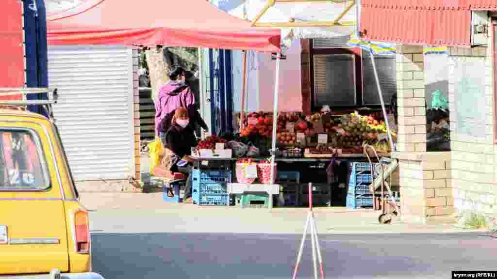 Ринок на вулиці Заліській