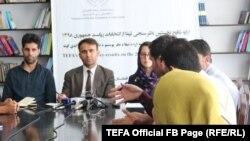 محمد نعیم ایوبزاده رئیس مؤسسه انتخابات شفاف افغانستان «تیفا»