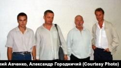 Томасо Мотолла, Андрей Битов, Александр Колесов, Василий Авченко. Владивосток.