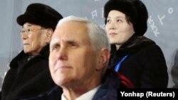 Majk Pens i Kim Jong-nam u Pjongčangu