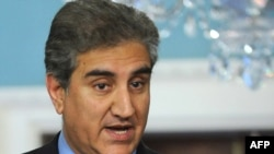 "Pakistani Foreign Minister Shah Mehmood Qureshi: ""Our government will never surrender our sovereignty."""
