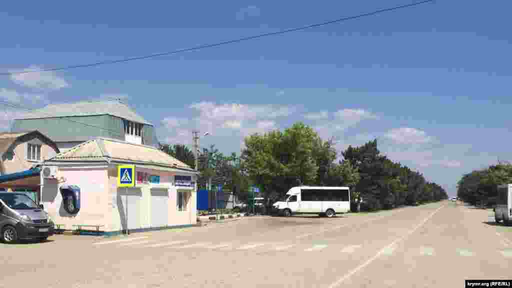 Автостанція селища Миколаївки
