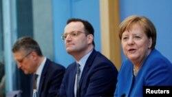 Пресс-конференция с участием Ангелы Меркель