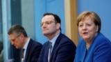 Ангела Меркел, нахуствазири Олмон