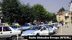 Такси возила во Охрид
