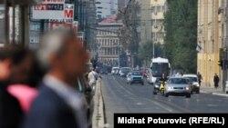 Ulice Sarajeva - ilustracija