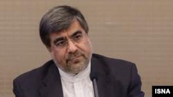 علی جنتی، وزیر فرهنگ و ارشاد اسلامی ایران.