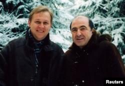 Андрей Луговой и Борис Березовский, 1998 год
