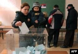 Glasanje u Mitrovici, 15. februar 2012.