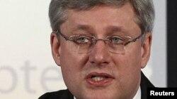 Премьер-министр Канады Стивен Харпер.