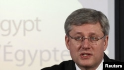 Canadian Prime Minister Stephen Harper's government failed a confidence vote.