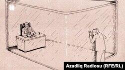 Rəşid Şerifin karikaturası (Şəffaflıq)