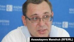 Олег Тышкевич, предприниматель. Алматы, 11 сентября 2013 года.