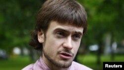 Петр Верзилов - муж Надежды Толоконниковой, осужденной участницы группы Pussy Riot