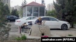 Aşgabat, aprel, 2014 (arhiw suraty)