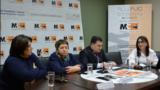 Правозащитники на пресс-конференции, Ереван, 18 февраля 2020 г.