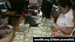 Ahmadboy ofisidan bir necha million dollar va milliardlab so'm musodara qilindi.