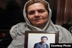 فرنگیس مظلوم، مادر سهیل عربی