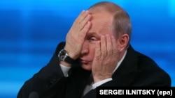 Orsýetiň prezidenti Wladimir Putin.