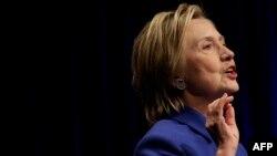 Хиллари Клинтон. 16 қараша 2016 жыл.