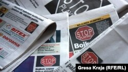 Nga bojkoti i aktitviteteve të Qeverisë nga ana e mediave në Ditën e Lirisë së mediave, më 3 maj 2012
