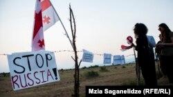 В Грузии внимательно следят за заключением очередного соглашения между Россией и де-факто властями Абхазии