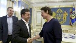 Ukrainian President Zelenskiy Welcomes 'Good-Looking' Tom Cruise To Kyiv
