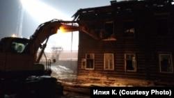 Снос исторических зданий в Красноярске