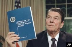 Ish-presidenti amerikan, Ronald Reagan.