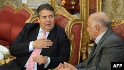 Ministri gjerman i Ekonomisë Sigmar dhe ministri iranian Bijan Namdar Zanganeh