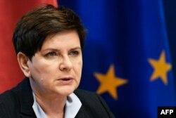 Poljska premijerka Beata Szydlo
