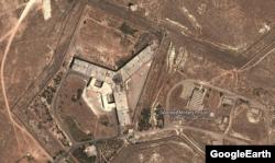 Тюрьма Сайеднайя. Вид с воздуха