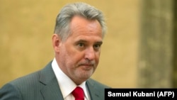 Ukrainian businessman Dmytro Firtash (file photo)