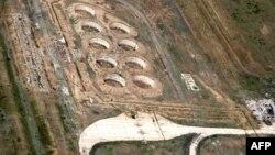 Испытательная площадка на территории бывшего Семипалатинского ядерного полигона. Восточно-Казахстанская область, 18 июня 2009 года.