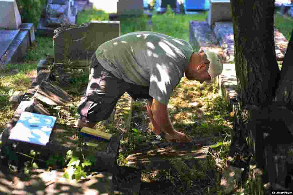 Sredjivanje Starog jevrejskog groblja Borak u Sarajevu, Foto: Itai Bloch i Eldad Menuchin
