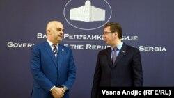 Rama i Vučić u Beogradu, decembar 2014